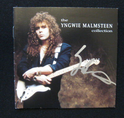 Yngwie Malmsteen SIGNED The Collection CD (Fender Strat)