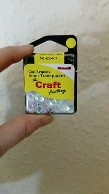 The Craft Factory CF01/405   Cup Sequins 5mm approx 5g