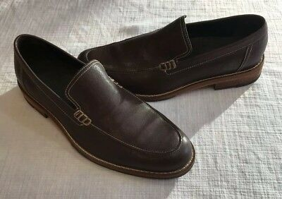 318a2897c71 COLE HAAN MEN S Black Leather Tucker Venetian Loafers 7872 Sz 9.5 M ...