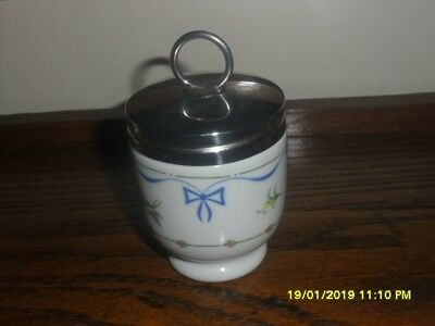 Royal Worcester Egg Coddler - Single Size - Ribbons And Bows