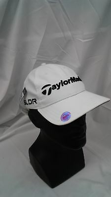 New Women s Taylormade Golf  14 Tour Chelsea Adjustable Hat White SLDR Logo 01beb5312073