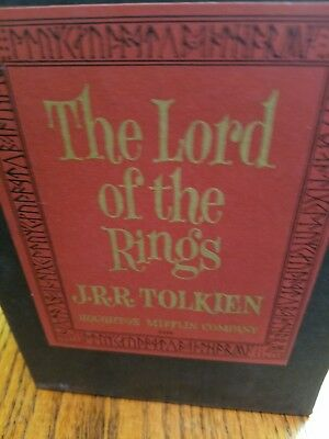 The Lord Of The Rings 3 Set Hard Back