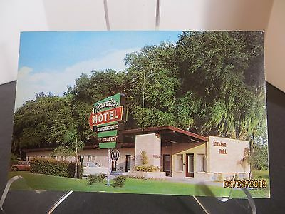 Vintage Francisco Motel Gainesville Florida Postcard