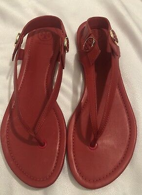 9759a9c5dfbe NIB TORY BURCH  198 NANTUCKET SEA MARITIME THONG FLIP FLOP SANDALS ...