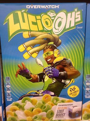 Blizzard Blizzcon 2018 - Kellogg's Lucio Oh's Overwatch Cereal Brand New