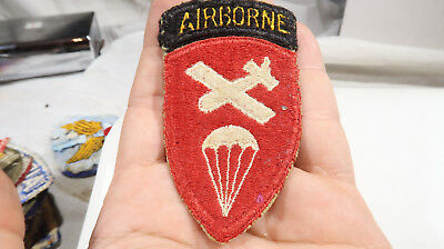 WWII ERA US Army Airborne Command with Attached Tab Patch