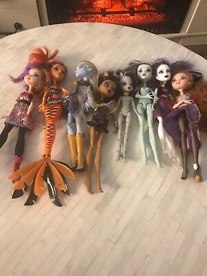 monster high ever after high lot