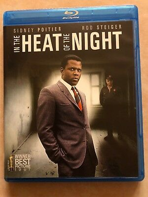 In the Heat of the Night (Blu-ray, 2014) - Poitier/Steiger - MINT CONDITION!