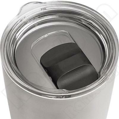 Rambler Tumbler 30oz Spills Proof Smooth Opening Magnetic Lid For YETI MagSlider