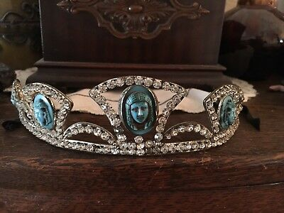 Vintage, Egyptian Classy Flapper Tiara. (One Of A Kind RARE)  Stunning! 1920-30