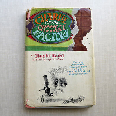 Charlie and the Chocolate Factory - Roald Dahl 1964 Junior Deluxe Edition Jacket