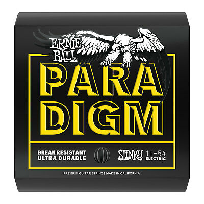 Ernie Ball P02027 Paradigm 11-54 Beefy Slinky Electric Guitar Strings - New