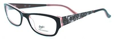 74f48d7c90 CANDIE S C CAITLIN BRN 50 17 New BROWN PINK Authentic WOMEN EYEGLASSES Frame