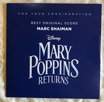 Mary Poppins Returns - FYC Score by Marc Shaiman
