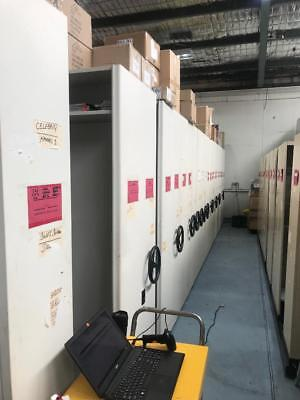 42 Bays Compactus - Over $42K New - BARGAIN - Total Storage Solutions