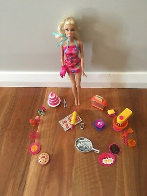 Barbie Doll with Cooking Utensils