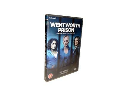 Wentworth: complete Season 6 series sixth six dvd new sealed + FREE TRACKING