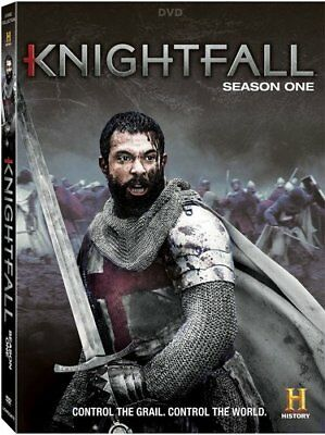 Knightfall complete Season 1 series first one dvd new sealed + FREE TRACKING