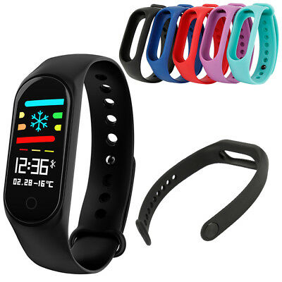 New Silicone Sport Bracelet Wristwatch Band Strap for M3s Smart Watch HM1