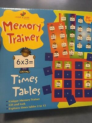 Times Tables Memory Trainer Game Learn Multiplication Mental Maths 5-8+