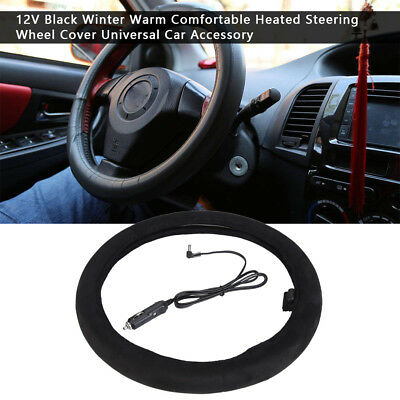 Universal 38CM Warm Soft Fuzzy Plush Car Auto Steering Wheel Cover For Winter