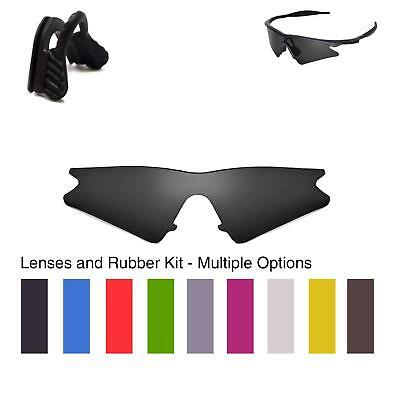 Walleva Lenses and Nose pad for Oakley M Frame Sweep - Multiple Options