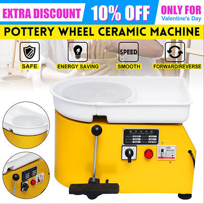 220V 350W Electric Pottery Wheel Pottery Machine Ceramic Clay Throwing Machine