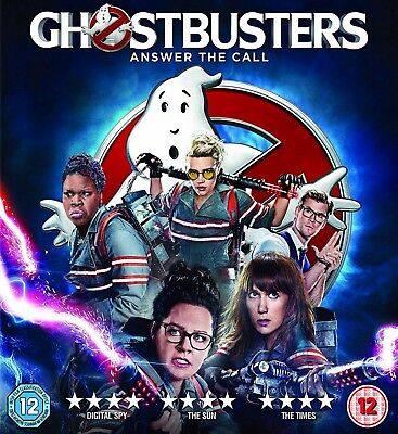 Ghostbusters (2016) UK Digital HD Ultraviolet Download Code from 4K UHD Blu-ray
