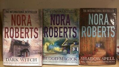 The Cousins O'Dwyer trilogy: Nora Roberts, collection of 3 adult fiction books
