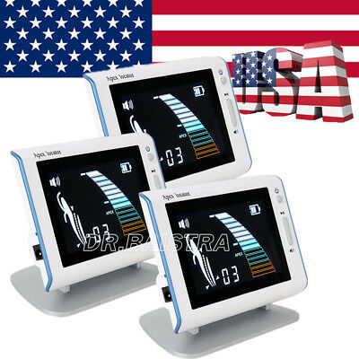 """3 X Dental Root Canal Apex Locator Endo Measurement 4.5""""LCD DTE DPEX III STYLE"""