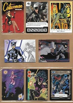 Catwoman, Selina Kyle, DC card lot