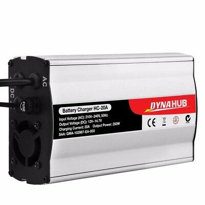 12V-240V Battery Charger 20 Amp for Car ATV 4WD Boat Caravan Motorcycle 20A @TOP