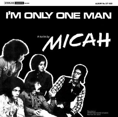 MICAH - I'm Only One Man - CD 1971 Shadoks