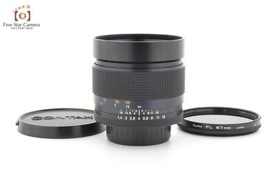 Excellent!! CONTAX Carl Zeiss Planar 85mm f/1.4 T* AEG from Japan