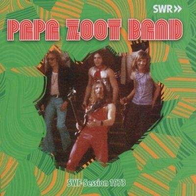 PAPA ZOOT BAND - SWF session 1973 - CD Longhair