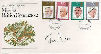 "Sir Tim Rice - Signed - "" Music ""  First Day Envelope"