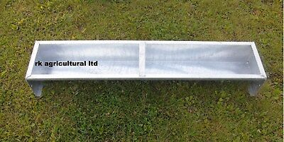 "4Ft 6"" Galvanised Sheep Feed Trough"