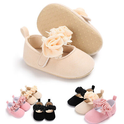 Newborn Shoes Sneaker Toddler Girls Crib Soft Sole Prewalker Anti-slip Infant