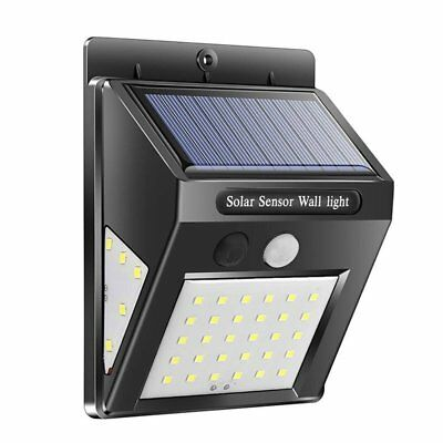 40 LED Solar Power Motion Sensor Garden Security Lamp Outdoor Waterproof Light