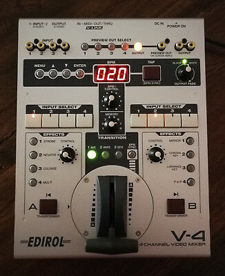 EDIROL V-4 Mixer video con effetti