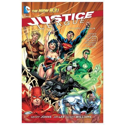 New DC Comics Justice League Vol.1 Origin Paperback Graphic Novel Official