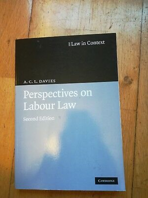 Perspectives on Labour Law by A.C.L. Davies (Paperback, 2009) 2nd edition