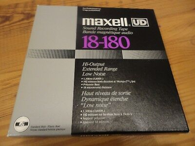 1 x Maxell UD 18-180 Tonband 1100m,Top!!! Nr.2
