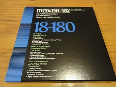 1 x Maxell UD 18-180 Tonband 1100m,Top!!!