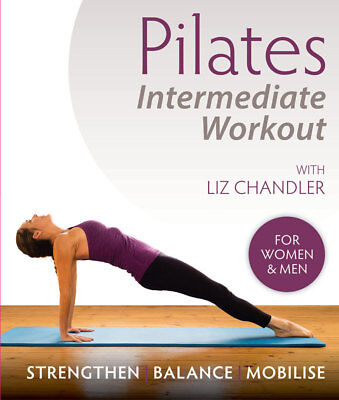 Pilates Intermediate Workout DVD by Liz Chandler - new and sealed