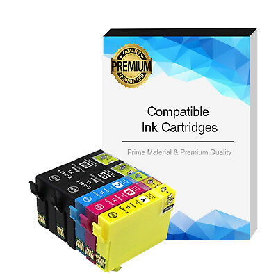 5 x Ink Cartridges For Epson 34XL WF-3720 WF-3720DWF WF-3725DWF