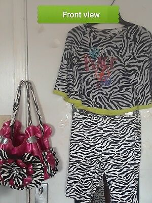 girl's 2pc. mix-match short set