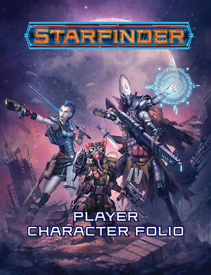 Starfinder RPG -  Player Character Folio