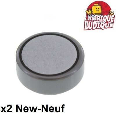 Lego 2x Tile round decorated 1x1 Animal Paw patte trace ours 98138pb055 NEUF