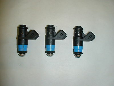 3 New Genuine Siemens Deka Fuel Injector 60lb 630cc 60# short pico 34mm
